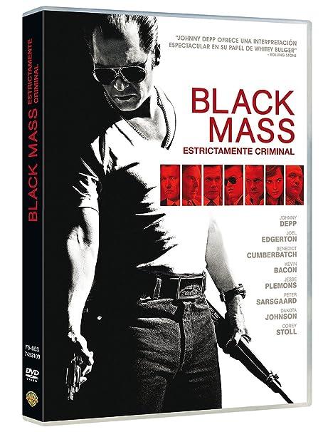 Black Mass [DVD]: Amazon.es: Johnny Depp, Joel Edgerton ...