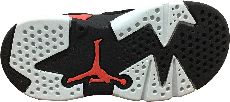 TD 5 M US Toddler Air Jordan Retro 6Infrared Black//Infrared