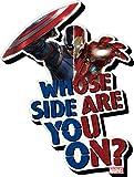 Aquarius Captain America Civil War Whose Side Funky Chunky Magnet