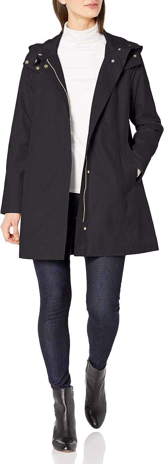 Cole Haan 可汗 女式连帽风衣外套 S码2折$39.88 海淘转运到手约¥337