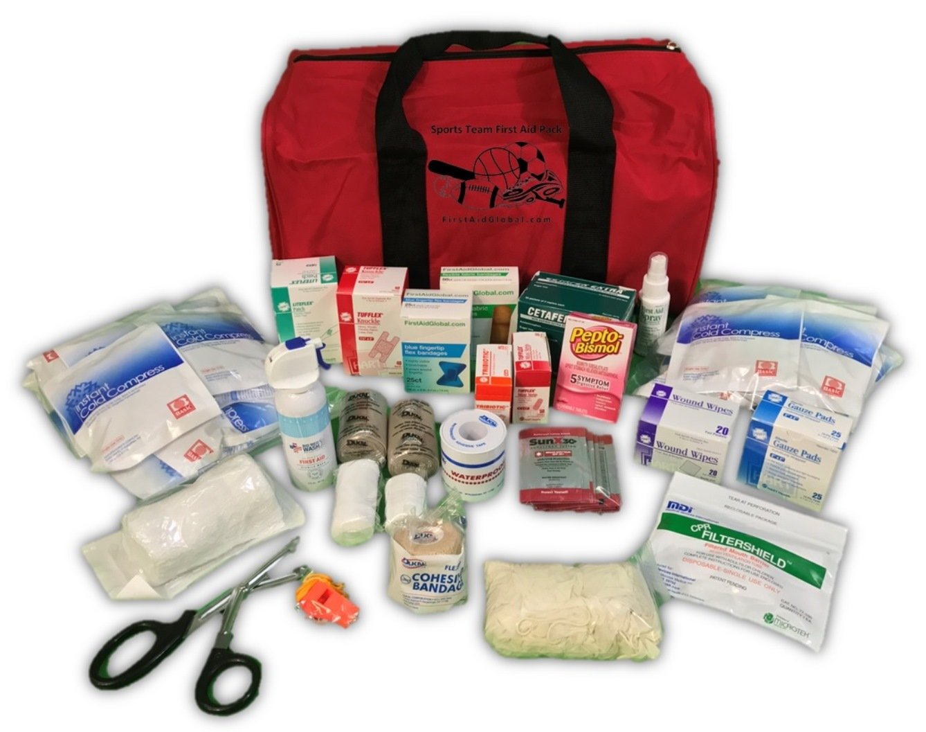 Sports Team First Aid Pack by FirstAidGlobal.com