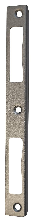 Alpertec Winkelschliessblech fü r Haustü ren, 190 x 20 x 8 mm, 36052060 Lager17 GmbH