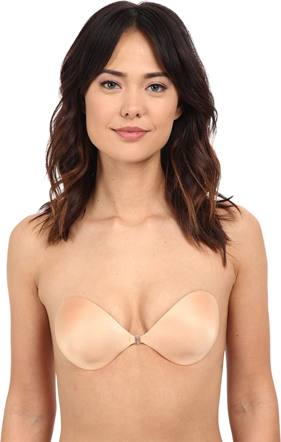 ae051a92f8fca Fashion Forms Womens Backless Strapless Seamless Push Up NuBra Mocha (C)   Amazon.co.uk  Clothing