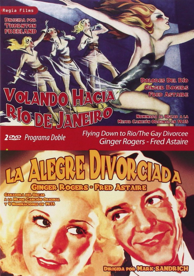 Amazon Com Flying Down To Rio The Gay Divorcee 2 Dvd Region 2 Fred Astaire Ginger Rogers Import Movies Tv