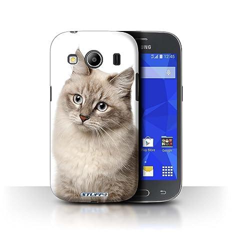 Carcasa/Funda STUFF4 dura para el Samsung Galaxy Ace 4/G357 / serie: