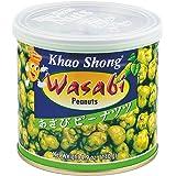 Khao Shong Snacks Peanuts and Wasabi, 140 g, Pack of 6