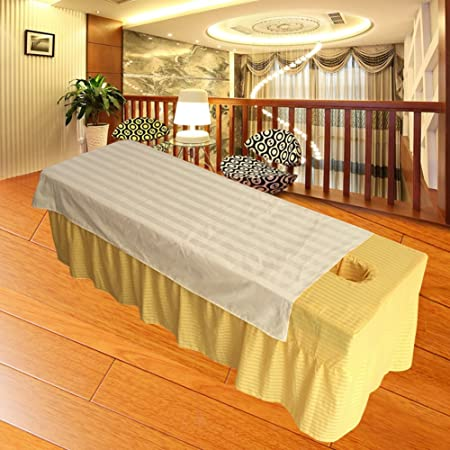 Attractive Massage Table Sheet,waterproof Sheets,spa Linens,set Of 2, Cosmetic Sheets