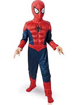 Marvel -154635s - Disfraces para niños, set Luxe 3d Eva de Ultimate Spiderman,