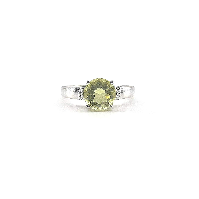 Handmade Jewelry Christmas Ring Lemon Topaz 925 Sterling Silver Gemstone Ring Statement Ring Anniversary Ring Boho Ring Gift For Her