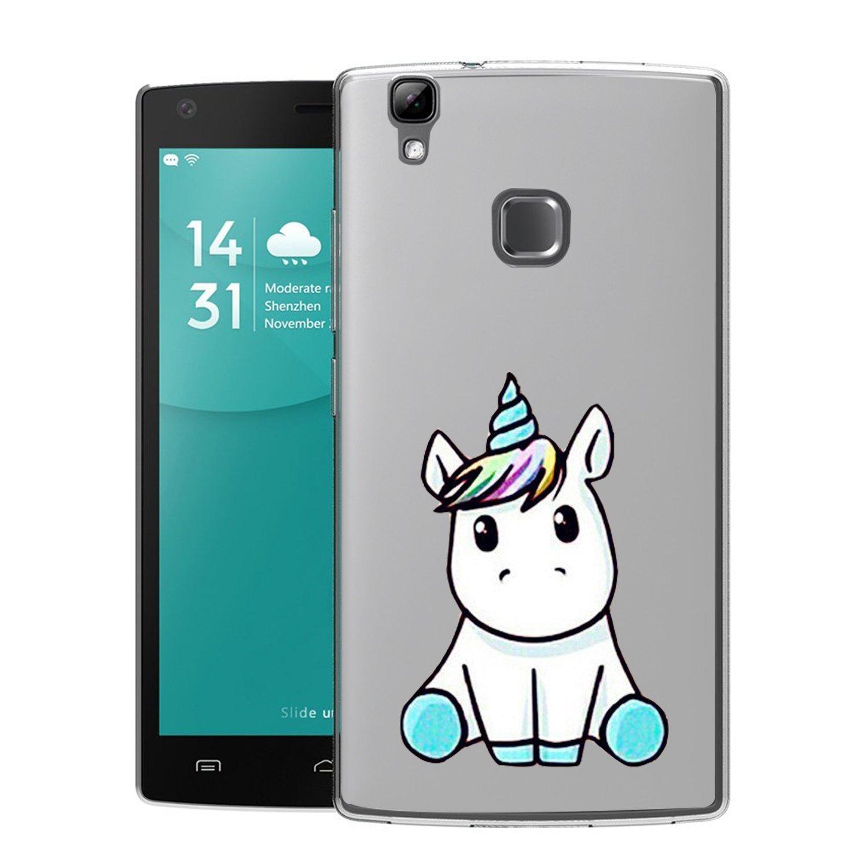 Doogee X5 Max Funda Linda Unicornio Soft Transparente Gel TPU ...