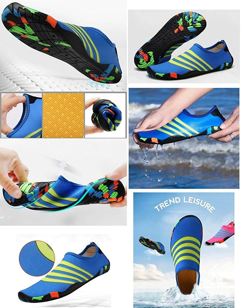 COMVIP Unisex Water Sports Shoes Barefoot Quick-Dry Aqua Yoga Socks