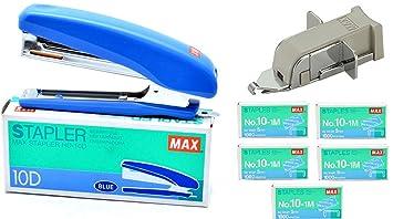 Max grapadora HD-10D con quitagrapas y 5 cajas 10 – 1 M staples-