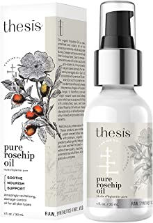 product image for Thesis Organic Rosehip Oil - Pure Cold Pressed Raw Unrefined - for All Skin Types