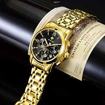 Amazon.com: WWOOR - Reloj deportivo para hombre, cronógrafo ...