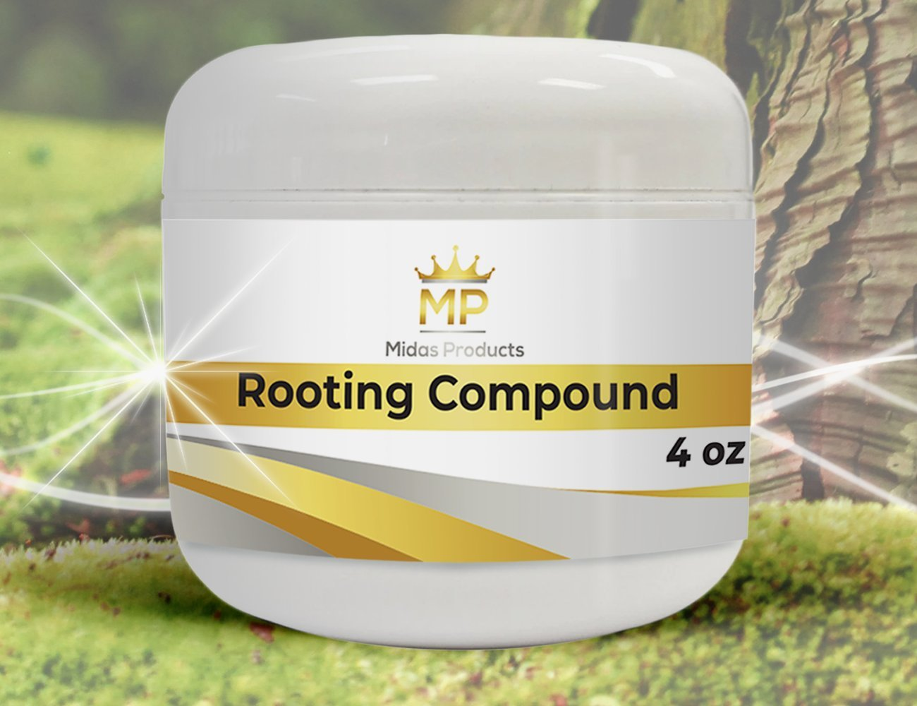Rooting Gel – IBA Rooting Hormone- Ideal Cloning Gel for Strong Clones - The Key to Plant cloning - Midas Products Rooting Gel Hormone for cuttings 4oz - for Professional and Home Based Growers by Midas Products (Image #3)