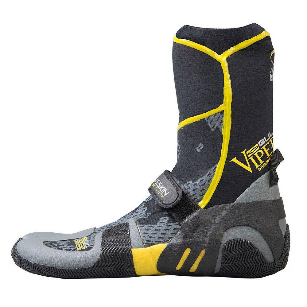Gul Viper 5 Toe mm 9 Split Toe Bootブラック Split/イエローbo1259 UK Size 9 B00JIVK0G6, beqube(ビーキューブ):b019f2f6 --- fooddim.club