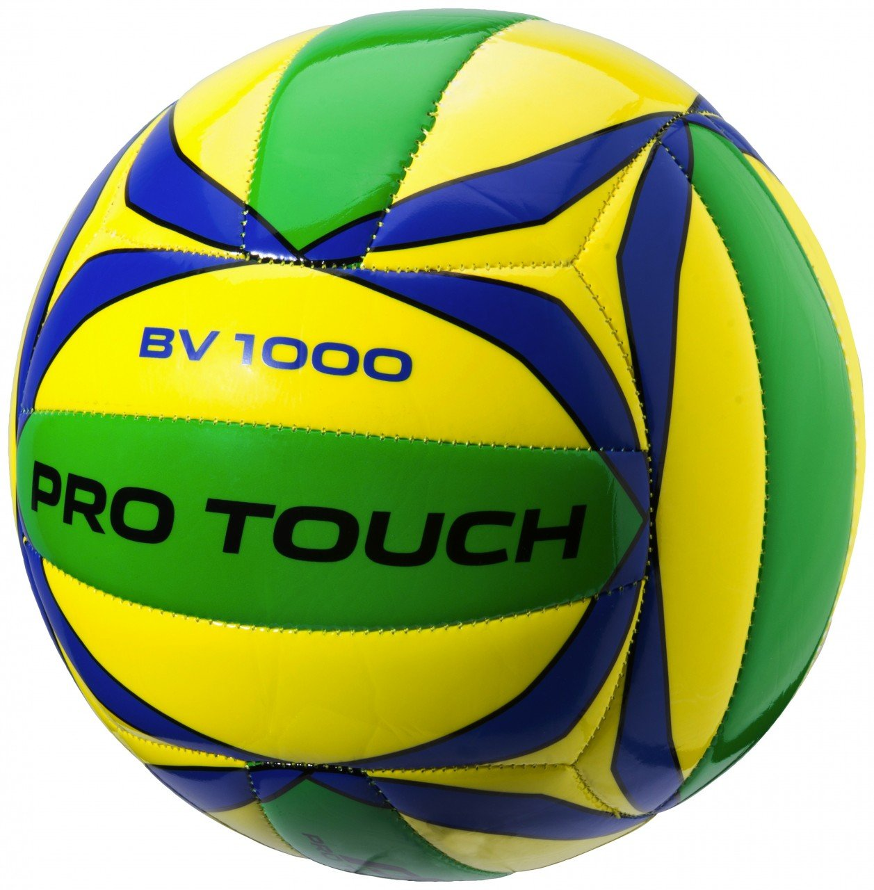 Pro Touch Beach-Volleyball Bv-1000 Beachvolleyball Gelb/Blau/Grün One Size PRR8A|#Pro Touch 62257