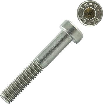 Edelstahl A2 V2A- rostfrei DIN 912 - Zylinderkopf Schrauben ISO 4762 Gewindeschrauben Eisenwaren2000 50 St/ück Zylinderschrauben mit Innensechskant M5 x 80 mm