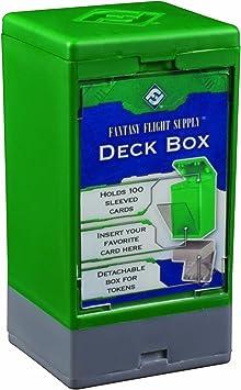 Fantasy Flight Games- Deck Box: FFG Green - Caja para mazos: Verde (FFS58): Amazon.es: Juguetes y juegos