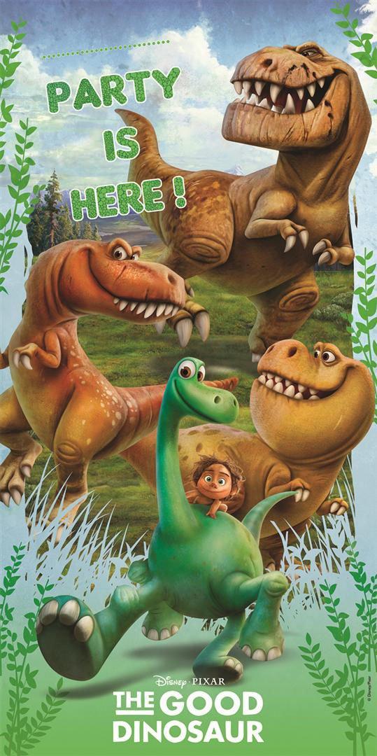 Unique Party 2.3/m Le Bon Dinosaure Banderole danniversaire