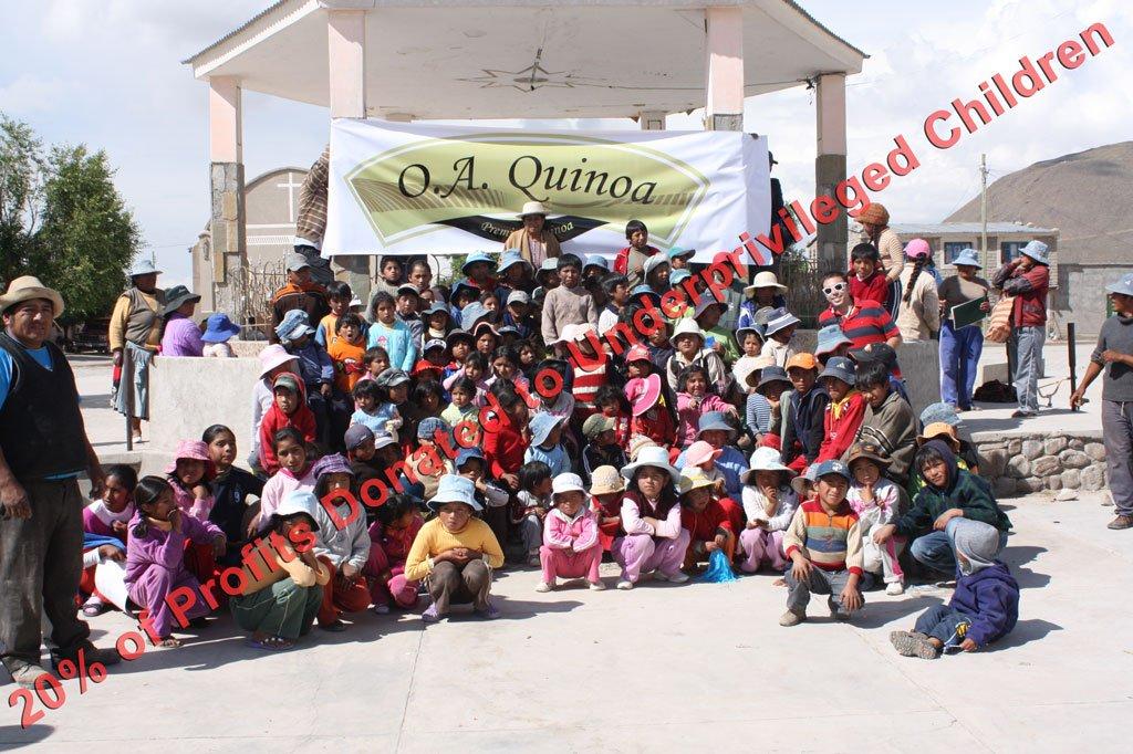 Royal Organic Tri Color OA Quinoa (10 Lb Bag) by OA QUINOA (Image #6)