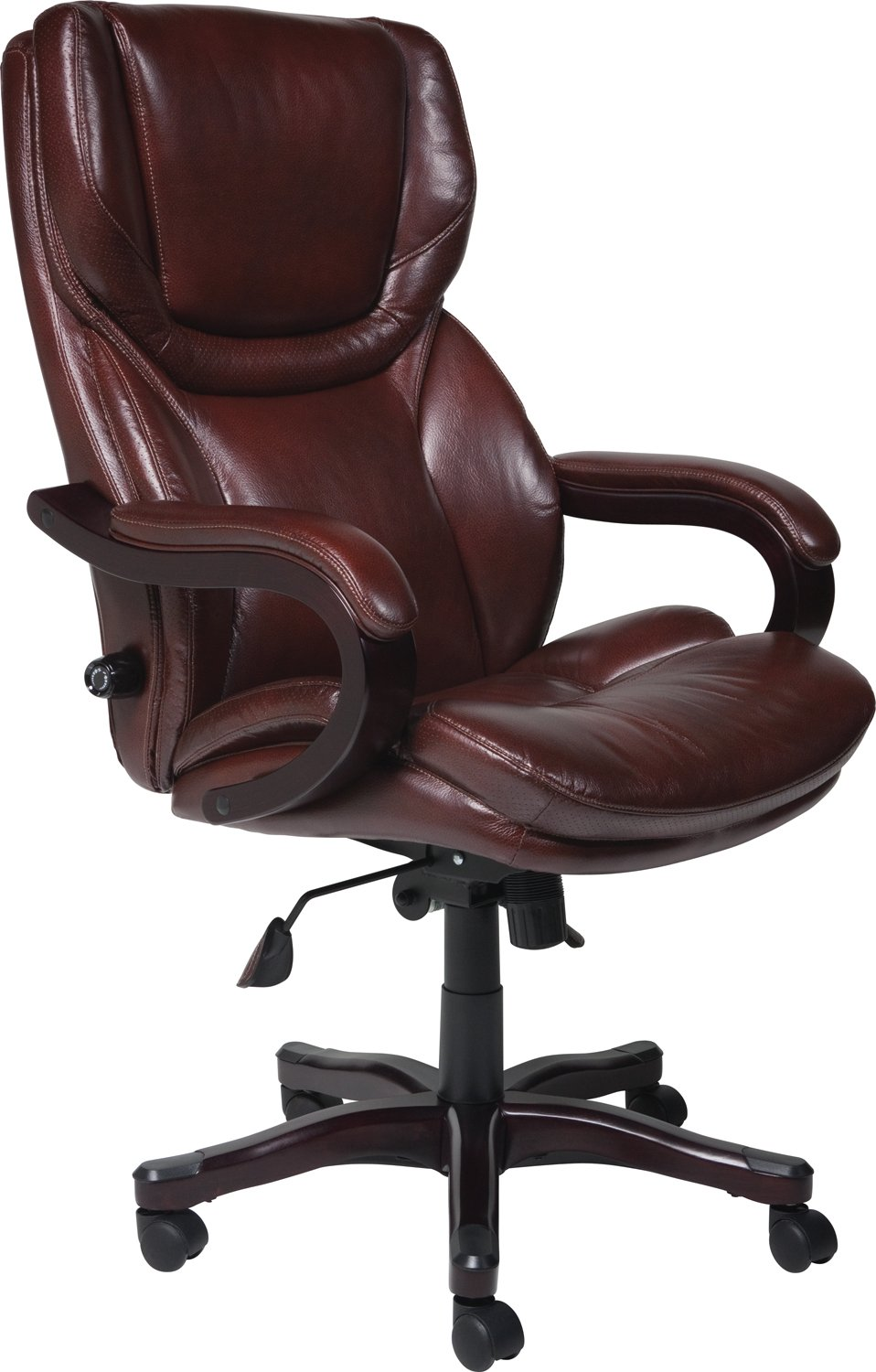 Serta Bonded Leather Big & Tall Executive Chair - Brown