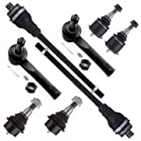 SCITOO 8pcs Suspension Kit Steering Tie Rod Ends