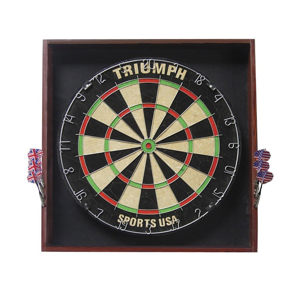 Triumph Sports Deluxe Backboard Combo Unit Dartboard
