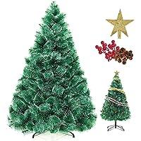 شجرة شجرة شجرة شجرة شجرة شجرة شجرة شجرة عيد الميلاد الصناعية المشفرة 400 فرع طبيعي مع ندفة الثلج البيضاء من SinchER…