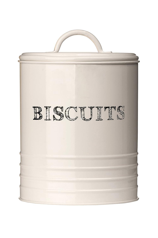 Premier Housewares 0507628 Sketch Contenitore per Biscotti, Metallo, Beige tenitori; alimenti
