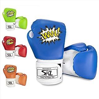 Gants de boxe SKL pour enfants, entraînement, muay-thaï, sac de boxe, kick-boxing, sac de sable BG-001
