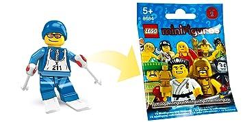 LEGO Minifiguras Coleccionables: Esquiador Minifigura (Serie 2) (Bolsas)