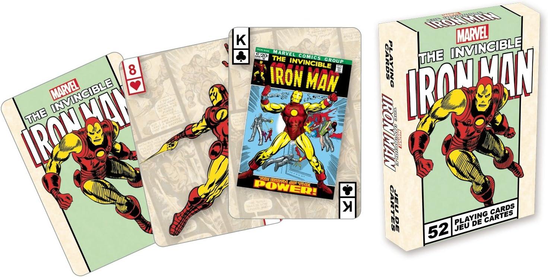 AQUARIUS Marvel- Iron Man Playing Cards Deck