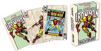 Marvel- Deck de cartas, diseño de Iron Man: Amazon.es ...