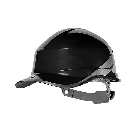 42475cf4228 Delta Plus Venitex Diamond V Baseball Cap Style Safety Hard Hat Construction  Black - - Amazon.com