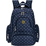 Amazon Price History for:BIG SALE - Baby Diaper Bag Smart Organizer Waterproof Travel Diaper Backpack with Changing Pad and Stroller Clips
