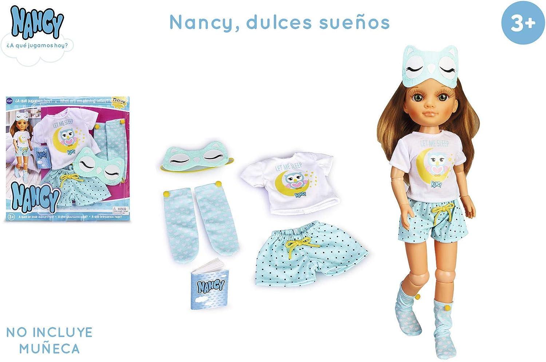 Nancy- Dulce sueños, Set de ropita de Pijama niñas a Partir de 3 ...