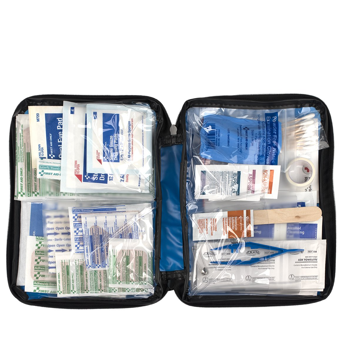 First Aid Only All-purpose First Aid Kit, Soft Case (131 Piece) by First Aid Only