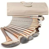 Makeup Brushes Set,T Tersely 18 Pcs Professional Make up Brush Tools kit Synthetic Kabuki Face Blush Lip Eyeshadow…