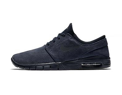 meet addcf 5e5bf Nike Men s Stefan Janoski Max L Obsidian dark Obsidian Skate Shoe ...