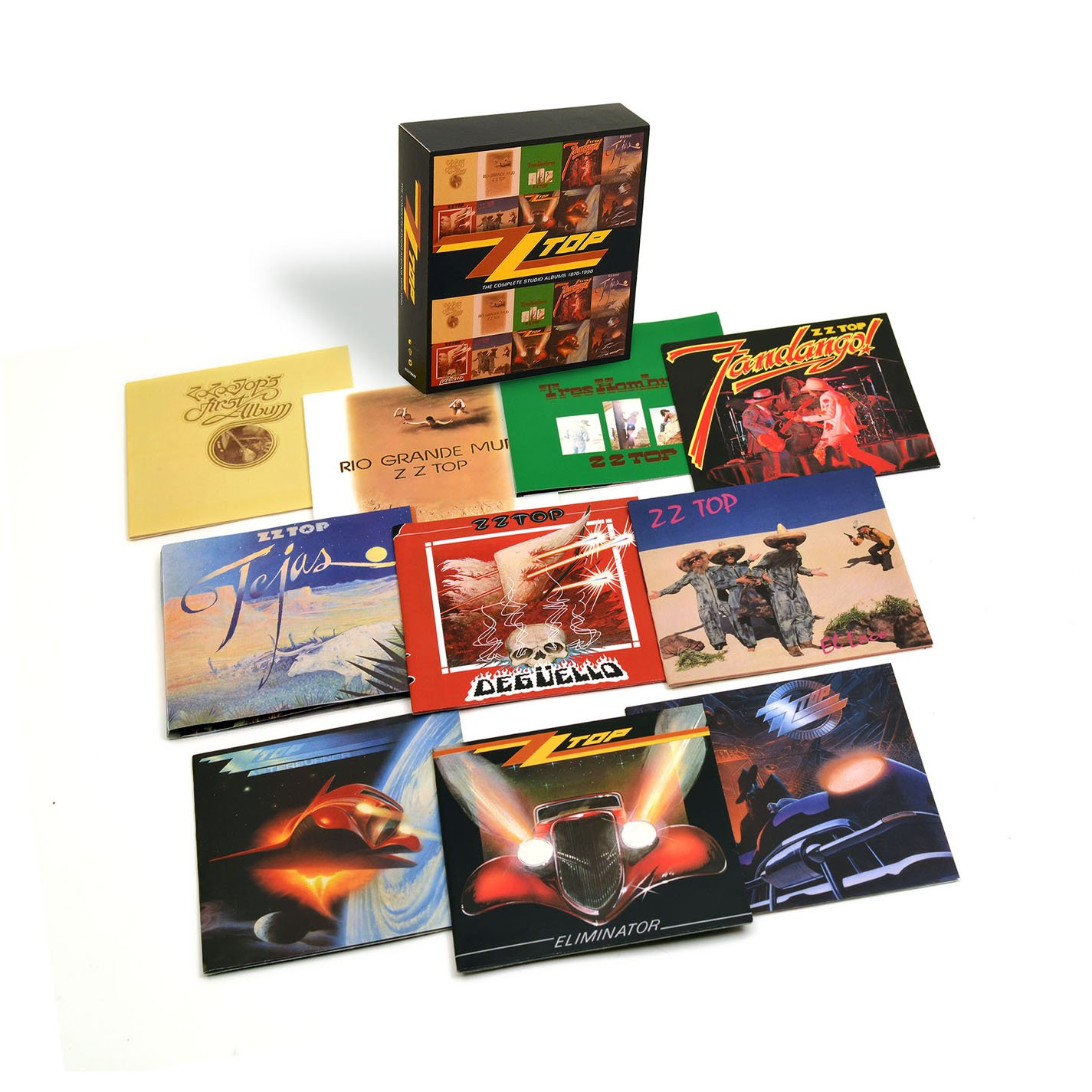 ZZ Top - The Complete Studio Albums 1970-1990 (10 CD) - Amazon.com Music