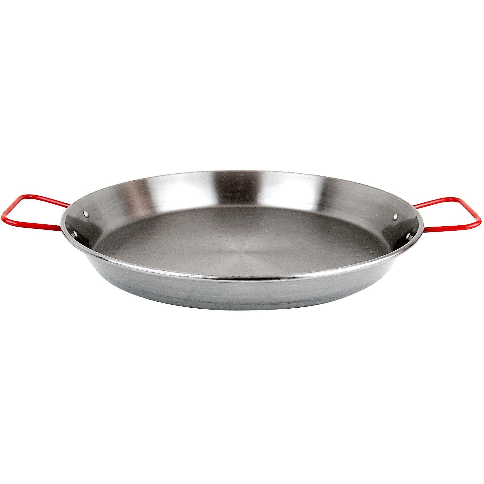 Carbon On Steel 36'' Paella Pan (50-70 Servings)