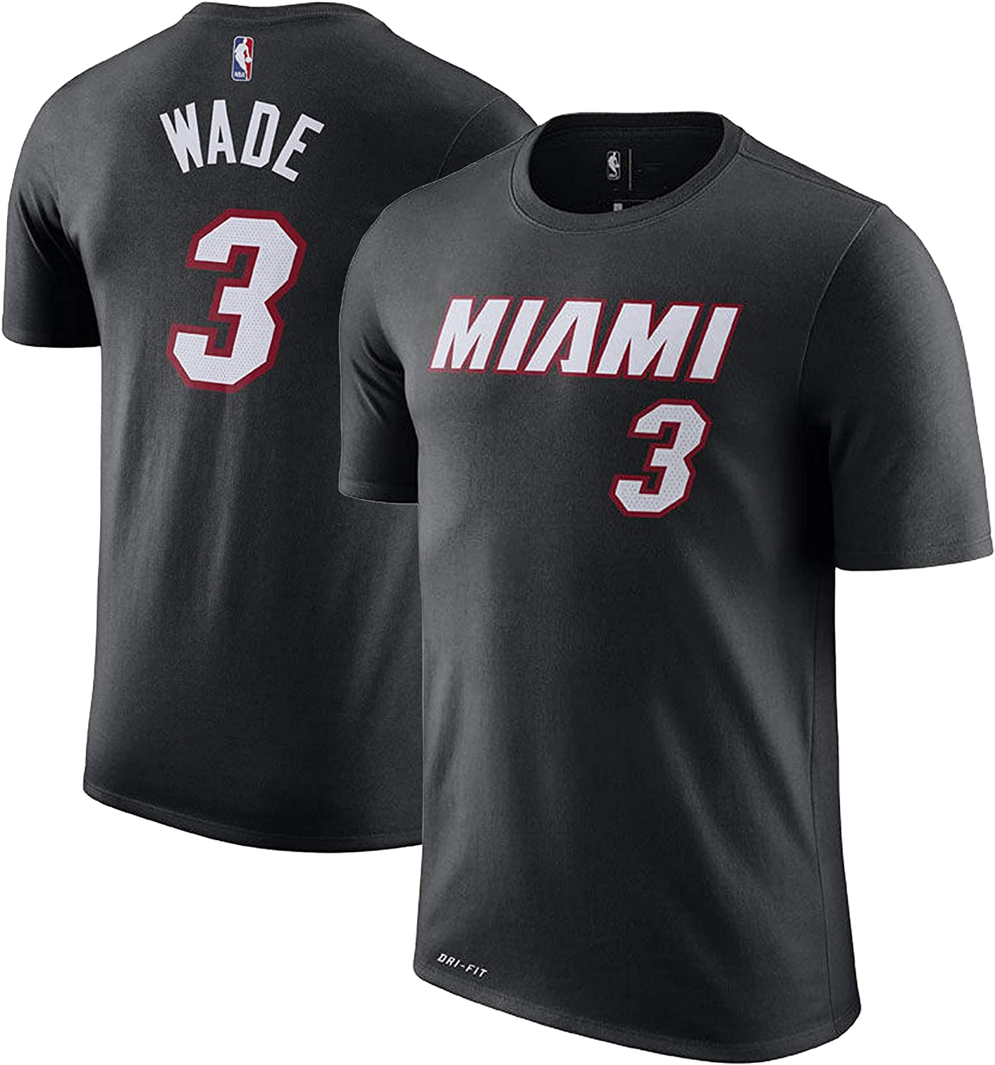 NBA Youth 8-20 Performance Dri Fit Icon Association Edition Name /& Number Player T-Shirt