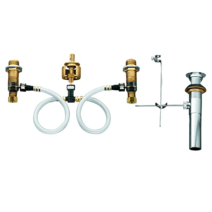 Moen 9000 Widespread Lavatory Rough-In Valve with Drain Assembly Featuring M-PACT Technology