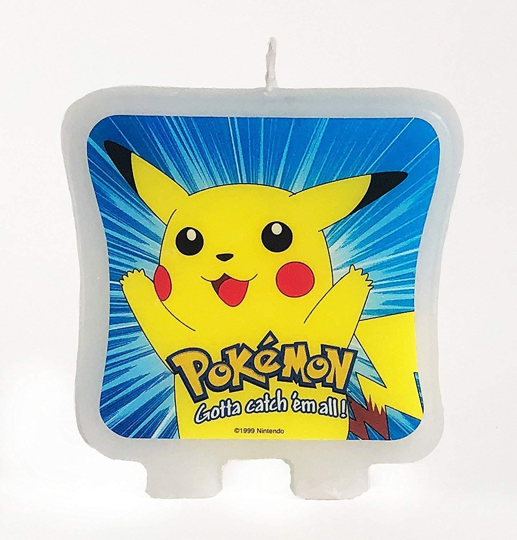 Pokemon Pikachu impreso adhesivo decoración para tarta para ...