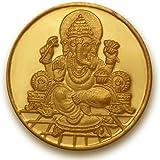 P.N.Gadgil Jewellers, 2 grams 24k (995) Yellow Gold Precious Coin