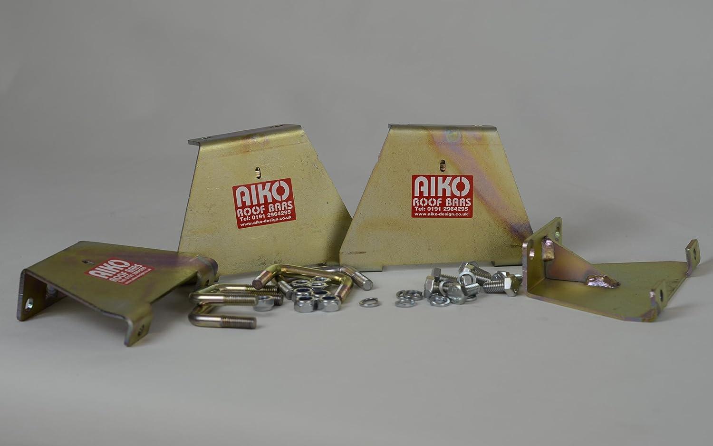 AMFS217 3 Bar Modular Roof Rack With Ladder Roller Aiko Design Ltd