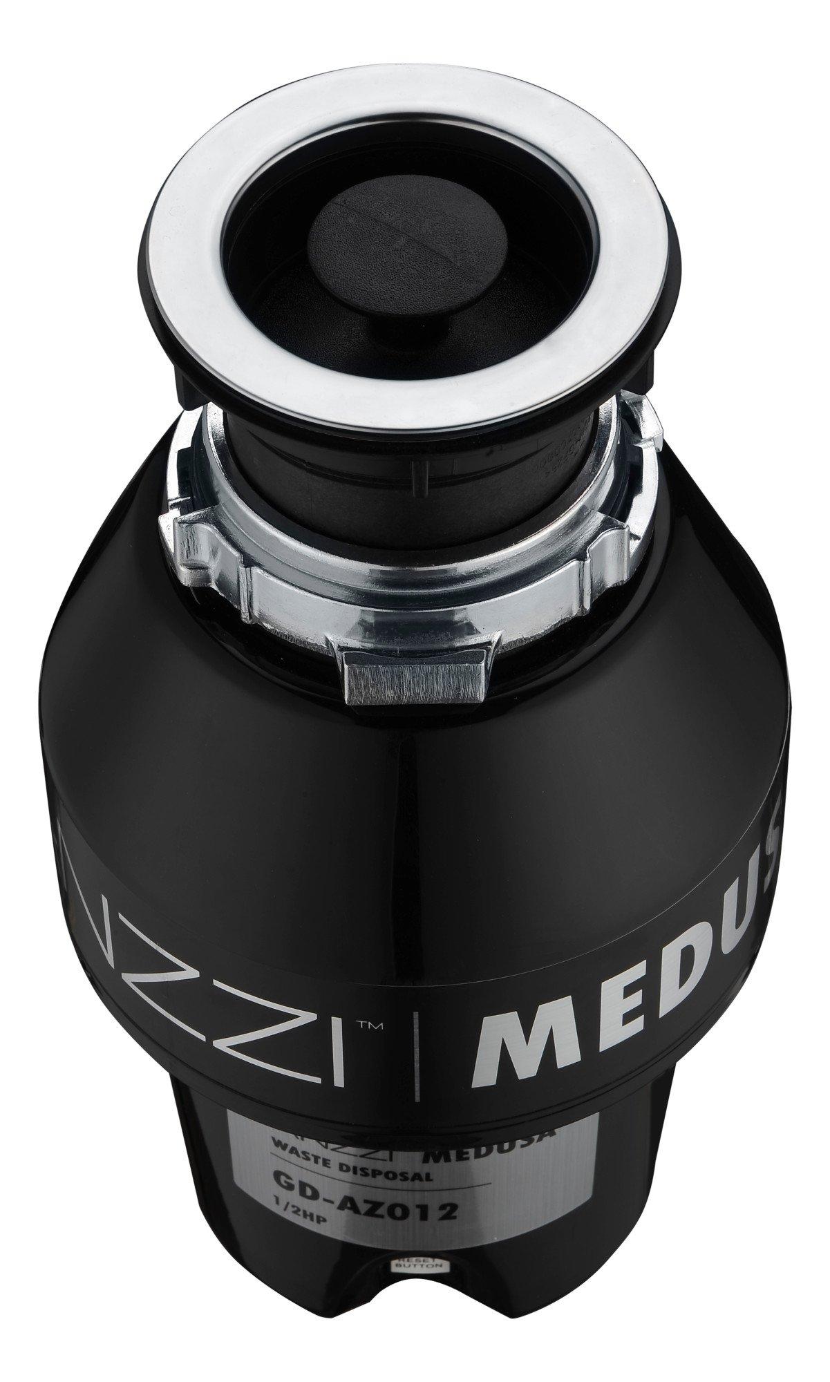 1/2 HP Garbage Disposal - Black - Medusa Series GD-AZ012 - ANZZI by ANZZI (Image #2)