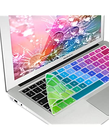 kwmobile Protector de Teclado de Silicona QWERTY (ES) para Apple MacBook Air 13
