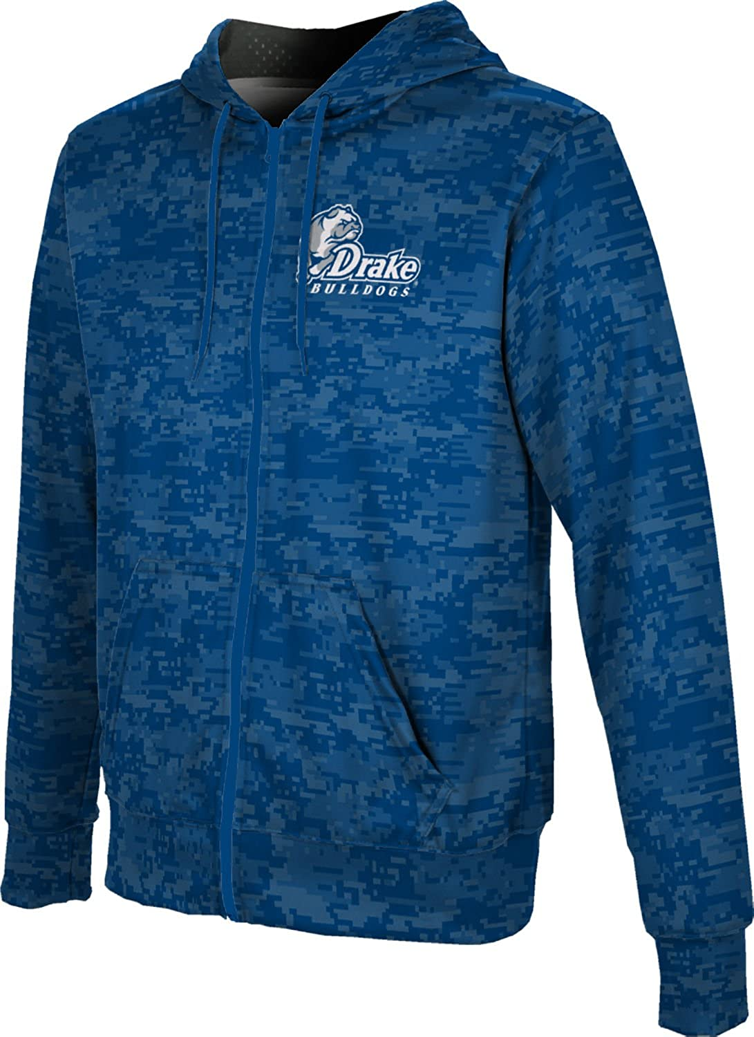 Digital ProSphere Drake University Boys Full Zip Hoodie